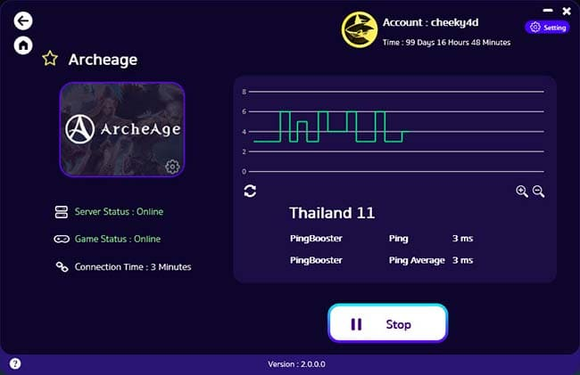 how-to-use-pingbooster-play-archeage-online-fix-lag-and-bypass