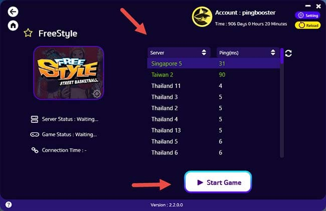 how-to-use-pingbooster-play-freestyle-online-fix-lag-and-bypass