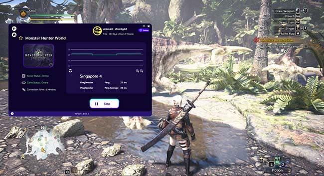how-to-use-monster-hunter-world-by-pingbooster