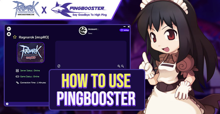 PINGBOOSTER X ROMSP | HOW TO USE PINGBOOSTER