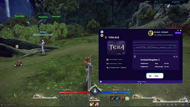 how-to-use-pingbooster-play-tera-online-fix-lag-and-bypass