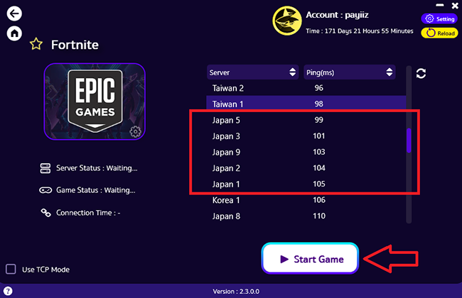 how-to-use-custom-epic-games--with-pingbooster