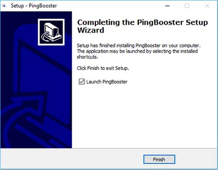 Setup PingBooster Client