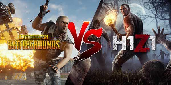 Playerunknown S Battlegrounds Boosting Service: H1Z1 Vs PlayerUnknown's Battlegrounds ความเหมือนที่แตกต่าง