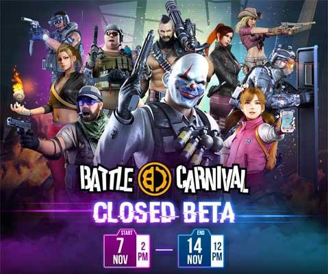 Battle Carnival เปิด CBT ในวันที่ 7 พฤศจิกายนนี้ โหลดเกมรอได้เลย